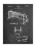 Soccer Goal Patent Art Affiches par Cole Borders