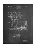 Kitchenaid Kitchen Mixer Patent Poster par Cole Borders