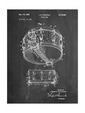 Rogers Snare Drum Patent Affiche par Cole Borders