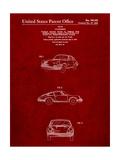1964 Porsche 911 Patent Affiches par Cole Borders