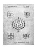 Rubik's Cube Patent Affiches par Cole Borders