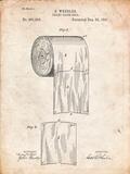 Toilet Paper Patent Affischer av Cole Borders