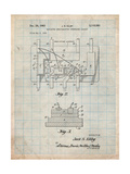 First Integrated Circuit Patent Affiches par Cole Borders