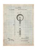 Thomas Edison Light Bulb Posters par Cole Borders