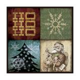 Holiday 4 Patch IV Lámina giclée por Stephanie Marrott