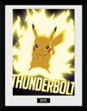 Pokemon - Thunder Bolt Pikachu Stampa del collezionista