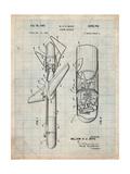 Guided Missile Patent Affiches par Cole Borders