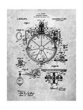 Compass Patent 1918 Posters par Cole Borders