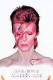David Bowie- Aladdin Sane Album Cover アートポスター
