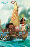 Moana- Sailing Along ポスター