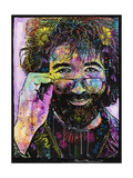 Jerry Garcia Giclee Print by Dean Russo