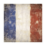 French Flag Giclee Print by Stephanie Marrott