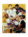 The Recruit Giclee-trykk av Norman Rockwell