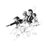 Circus Giclee Print by Norman Rockwell