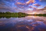 Sunrise Kiss Reproduction photographique par  Darren White Photography