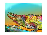 Chameleon Giclée-tryk af Dean Russo