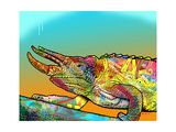 Chameleon Giclee Print by Dean Russo