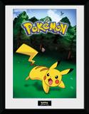 Pokemon - Pikachu Catch Stampa del collezionista