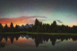 Schwabacher Heavens Reproduction photographique par  Darren White Photography