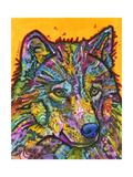 Wolf 2 Lámina giclée por Dean Russo
