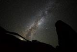 Landscape Arch Milky Way Reproduction photographique par  Darren White Photography
