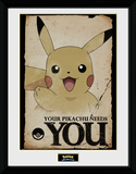 Pokemon - Pikachu Needs You Samletrykk