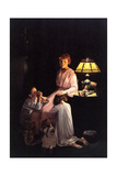 The Stuff of which Memories Are Made (or Children Saying Prayers) Giclee Print by Norman Rockwell