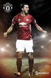 Manchester United- Ibrahimovic Plakater