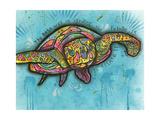 Turtle Lámina giclée por Dean Russo