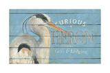 Heron Blue Lámina giclée por Stephanie Marrott