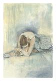Ballerina Repose II Premium-giclée-vedos tekijänä Jennifer Goldberger