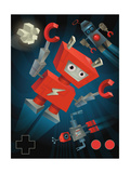 Flying Robots Poster