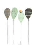 Whimsical-Style Balloons with Snail Pôsters