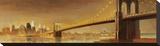 Brooklyn Bridge Stretched Canvas Print by Paulo Romero