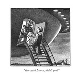 """You voted Leave, didn't you"" - New Yorker Cartoon Reproduction giclée Premium par Harry Bliss"