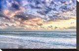 Evening Tide Impressão em tela esticada por Mary Lou Johnson