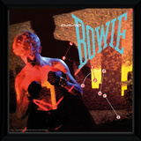 David Bowie - Lets Dance Framed Album Art Stampa del collezionista