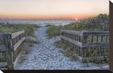 Evening Walk Impressão em tela esticada por Mary Lou Johnson