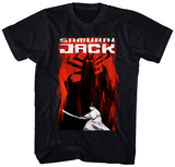 Samurai Jack- To Battle Aku T-shirts