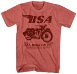 Birmingham Small Arms- Sleek Motorcycle T-skjorter