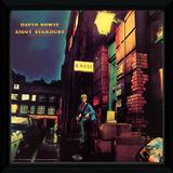 David Bowie - Ziggy Stardust Framed Album Art Reproduction encadrée pour collectionneurs