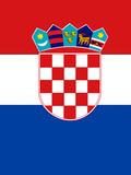 Croatia Flag Prints by  Wonderful Dream