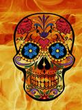 Horror Skull Halloween Poster par  Wonderful Dream