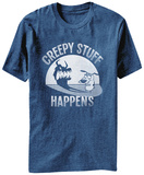Courage the Cowardly Dog- Creepy Stuff Happens T-shirts