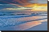 Sunset Reflections Impressão em tela esticada por Mary Lou Johnson