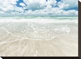 Sky, Surf, and Sand Impressão em tela esticada por Mary Lou Johnson