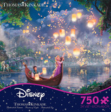 Thomas Kinkade Disney Dreams - Tangled 750 Piece Jigsaw Puzzle Jigsaw Puzzle