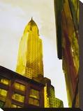 Skyscraper 3 Stretched Canvas Print by Paulo Romero
