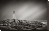 Peggy's Cove Lighthouse Impressão em tela esticada por Steve Silverman