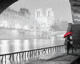 A Paris Kiss - Notre Dame Poster